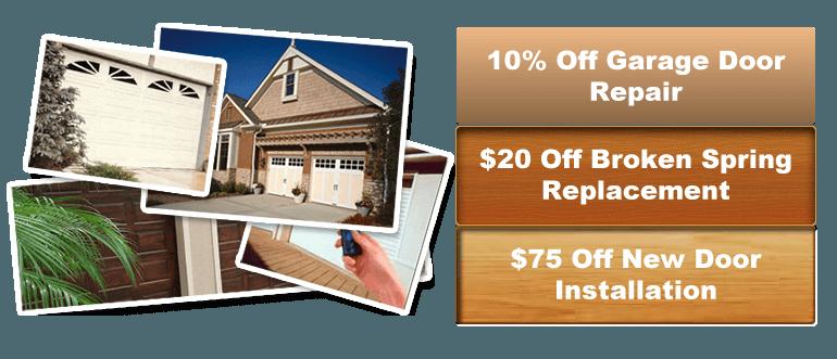 repair and service at los garage door repair